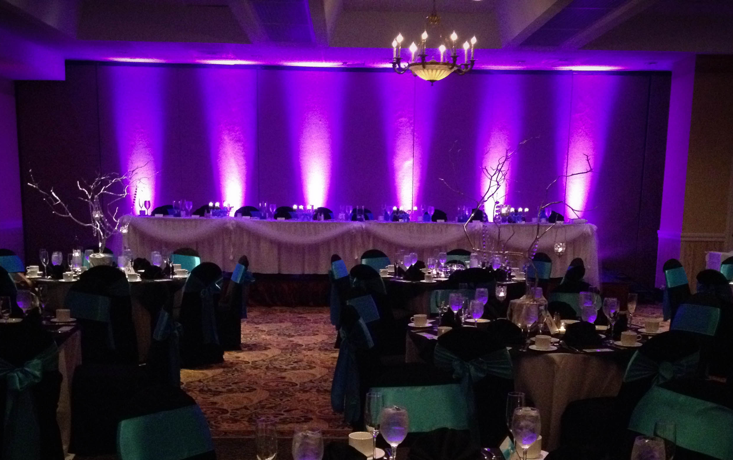 Event design wedding design award winning a sharp for How to light up a room