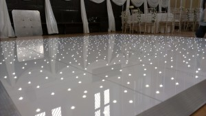 Dance Floor White