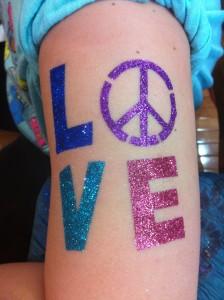 Glitter Tattoo 3